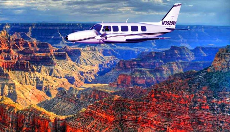 Grand Canyon Plane Tour, Sedona to South Rim