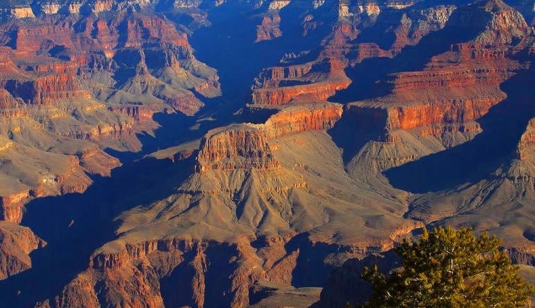 Grand Canyon Plane Tour, Sedona to South Rim Landscape