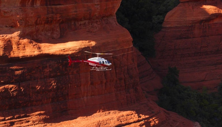 Sedona Helicopter Tour of Red Rocks Hogs