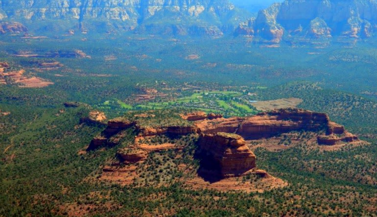 Sedona Helicopter Tour of Red Rocks, Hog Wild Flight Green