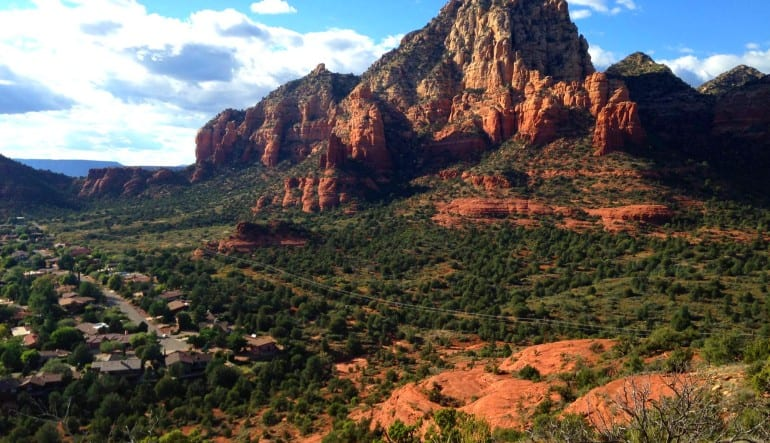Sedona Helicopter Tour of Red Rocks, Hog Wild Flight Mountain