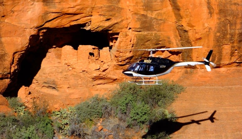 Sedona Helicopter Tour of Red Rocks, Ancient Way Flight