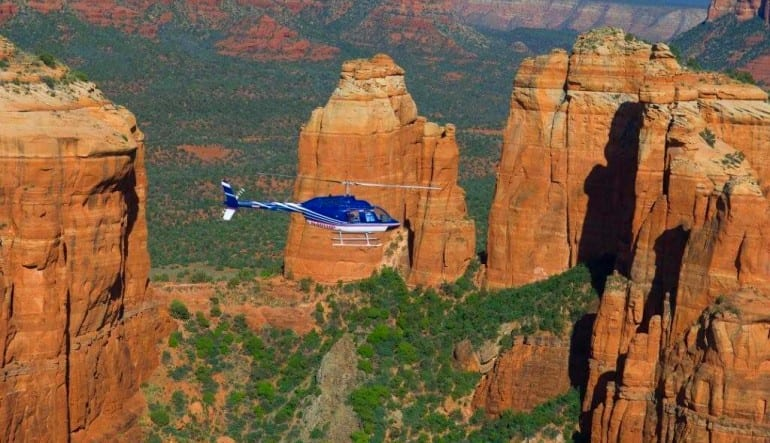 Sedona Helicopter Tour of Red Rocks, Bear Wallow Flight