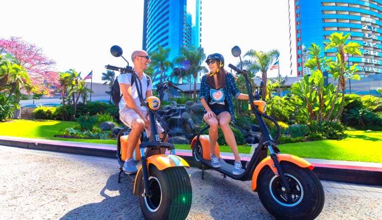 Electric Scooter Tour San Diego Pit Stop