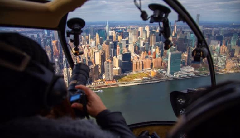 Private New York City Helicopter Tour Inside Out