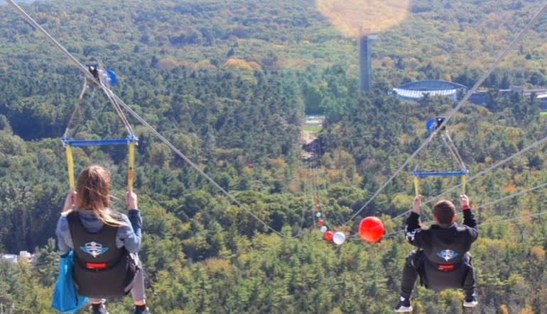 Foxwoods HighFlyer Zipline Tree Tops