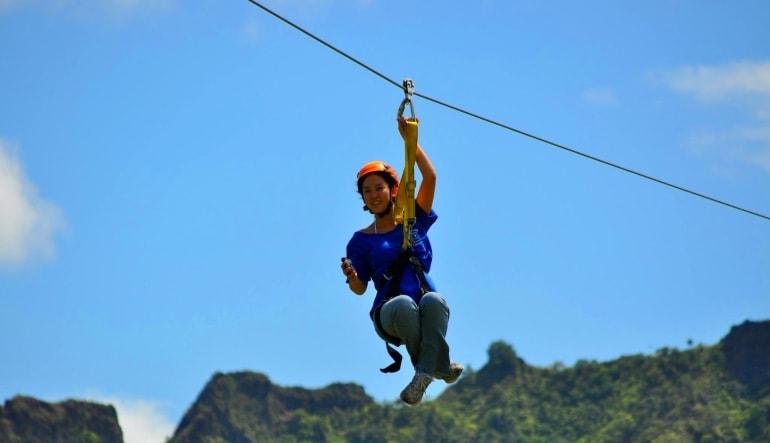 Wikiwiki Zipline Kauai  Sky High