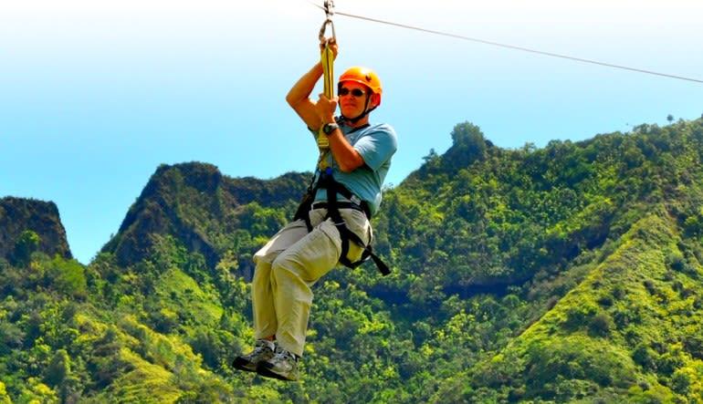 Wikiwiki Zipline Kauai Mountains