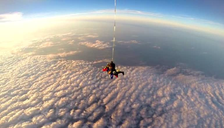 High Altitude Low Opening Skydive, 30,000ft Worlds Above