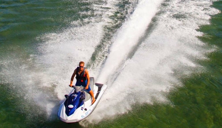 Jet Ski Tour and Parasailing COMBO Fun