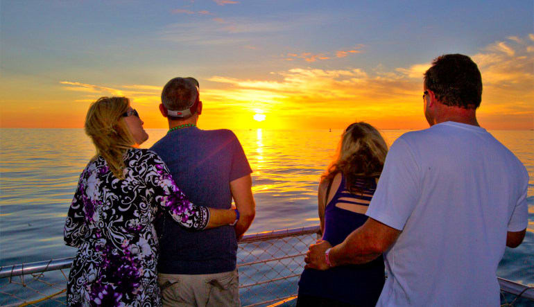 Key West Sunset Cruise Couples
