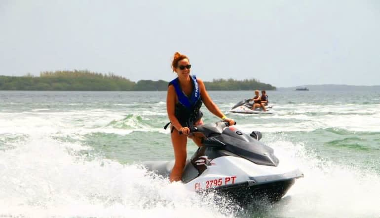 Jet Ski Tour Key West Lady