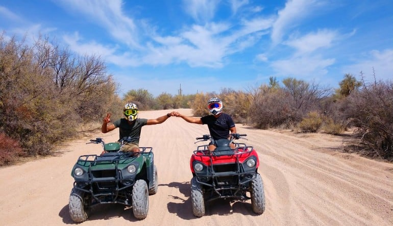 ATV Phoenix Guided Tour, Sonoran Desert Friends