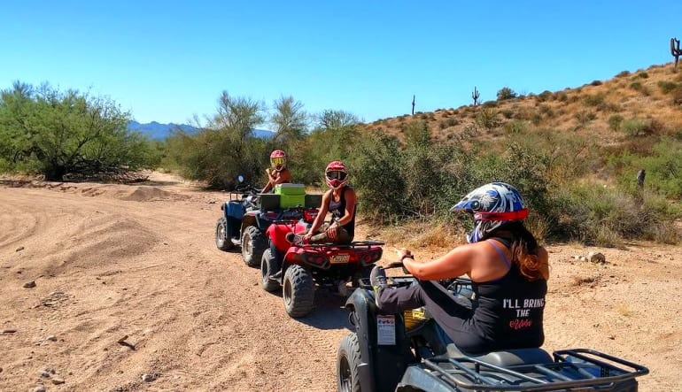 ATV Phoenix Guided Tour, Sonoran Desert Ladies