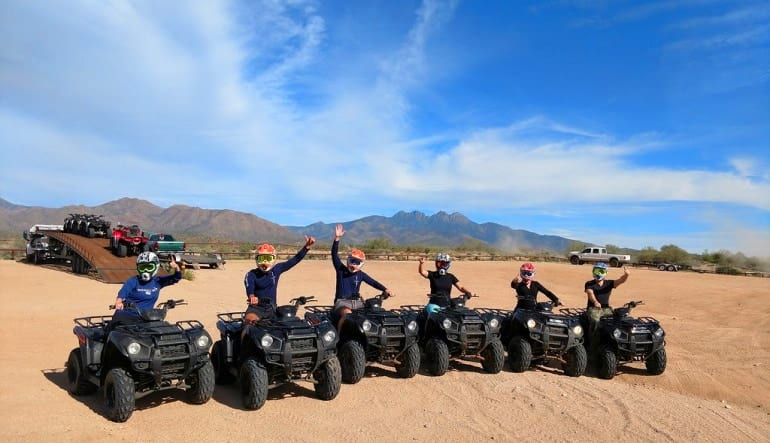 ATV Phoenix Guided Tour, Sonoran Desert Team