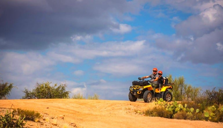 ATV Phoenix Guided Tour, Sonoran Desert Double