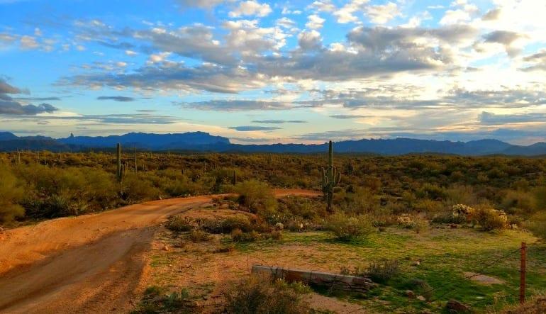 Extreme Hummer Tour Phoenix Landscape