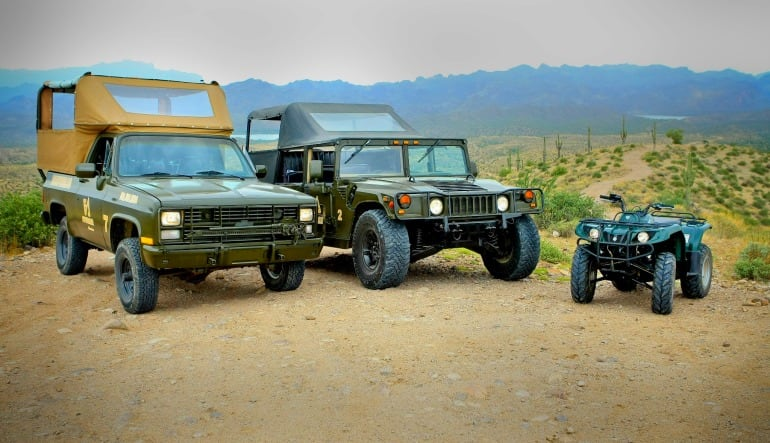 Hummer Tour and ATV Guided Tour Phoenix