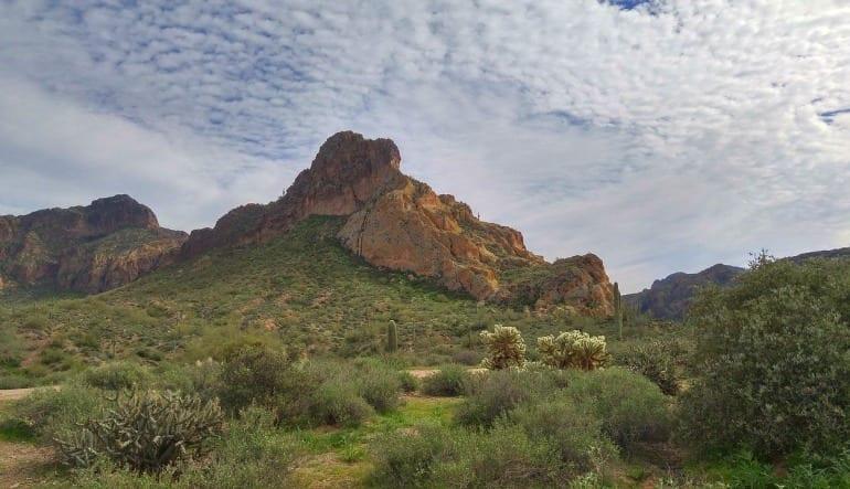 Hummer Tour and ATV Guided Tour Phoenix Landscape