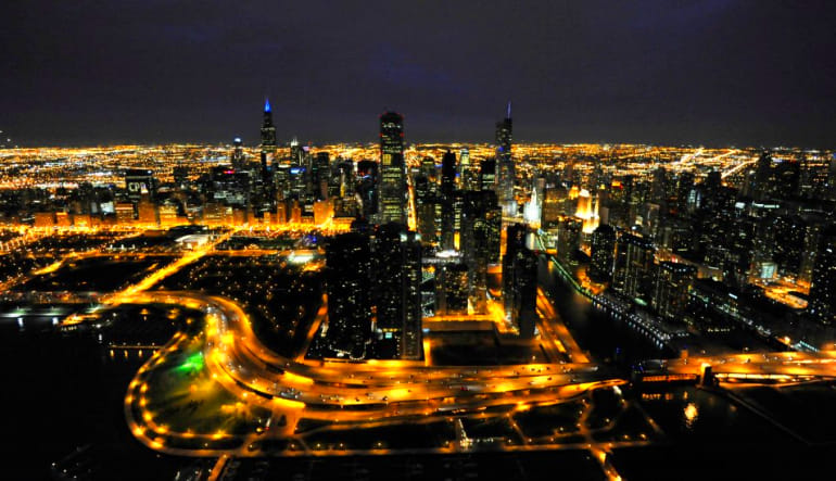 Private Helicopter Tour of Chicago