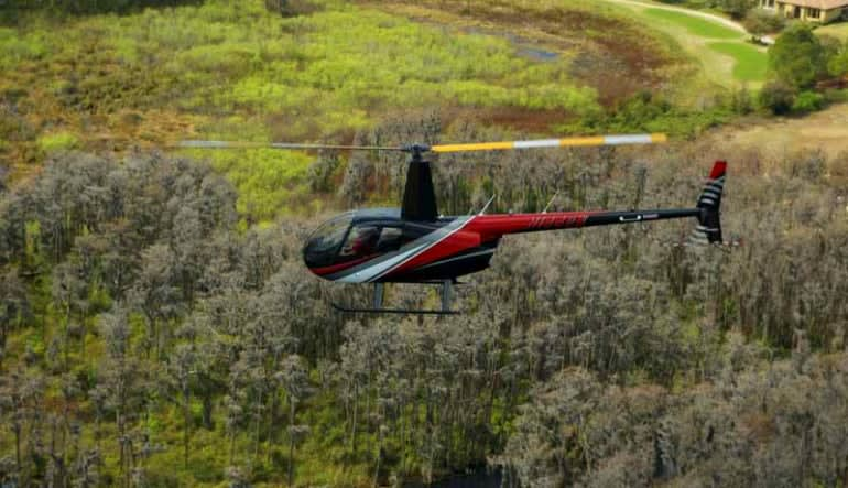 Helicopter Ride Kissimmee, Theme Parks and Celebrity Homes