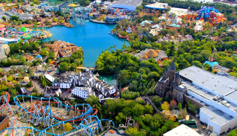 Helicopter Ride Kissimmee, Theme Parks Disney