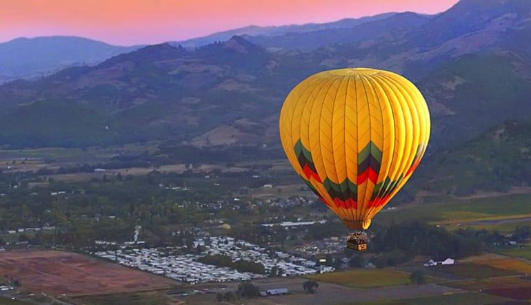 Hot Air Ballooning Napa Valley Calistaga Balloons