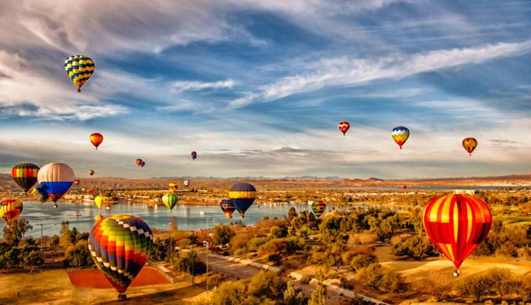 Hot Air Balloon Ride Nashville - 1 Hour Flight Festival