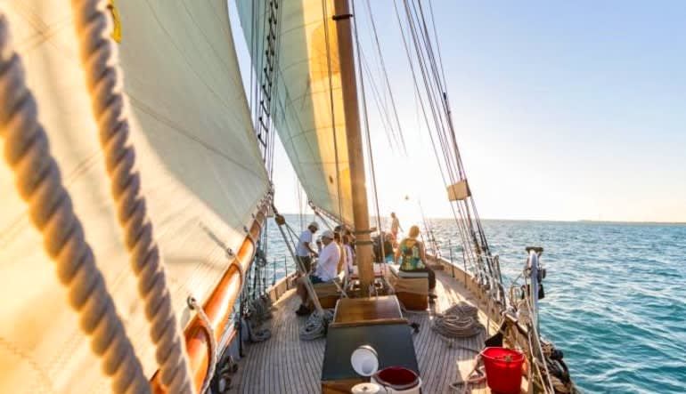 Schooner Sailing Key West - 1.5 Hour Sunset Sail  Deck