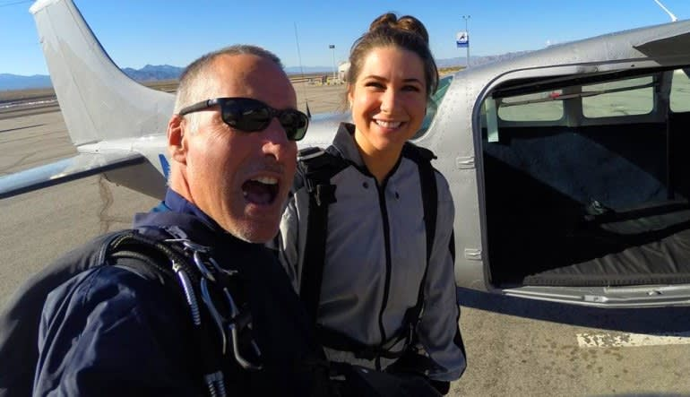 Skydive Sin City Las Vegas Ahhhhh