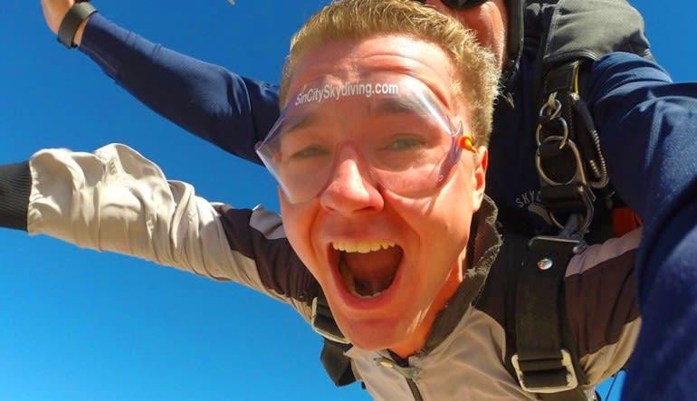 Skydive Sin City Las Vegas Man