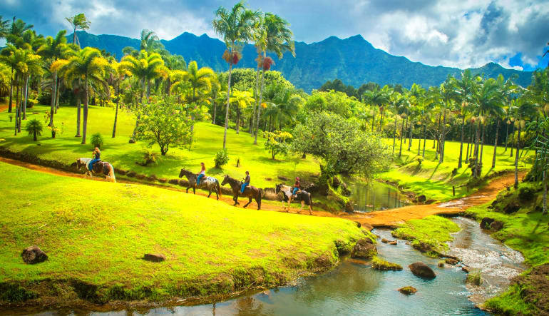 Horseback Ride Kauai Discovery Tour Ranch