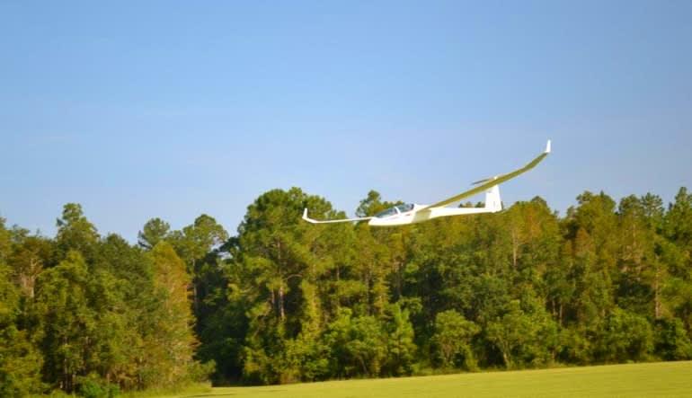 Glider Scenic Flight, Orlando Inflight