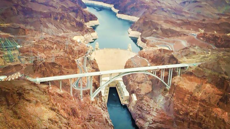 Helicopter Tour Grand Canyon, Floor Landing and Champagne Picnic Dam