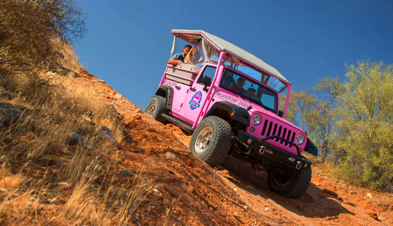 Jeep Tour Sedona, Broken Arrow Tour Decline