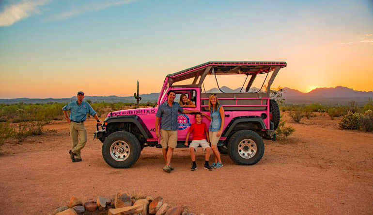 Jeep Tour Sedona, Broken Arrow Tour Group