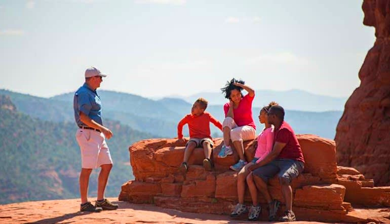 Jeep Tour Sedona, Broken Arrow Tour Family