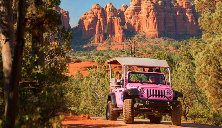 Jeep Tour Sedona, Broken Arrow and Scenic Rim Tour  Landscape