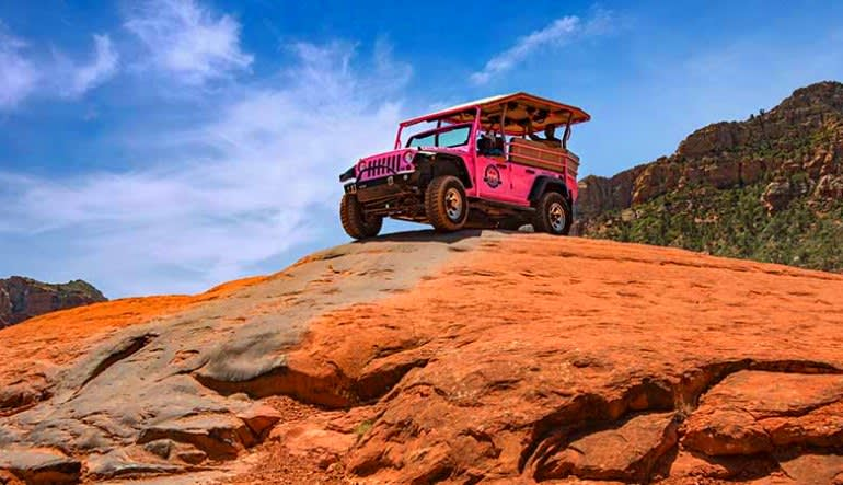 Jeep Tour Sedona, Broken Arrow Tour Rocks