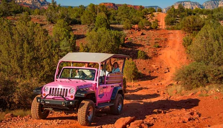 Jeep Tour Sedona, Diamondback Gulch Tour