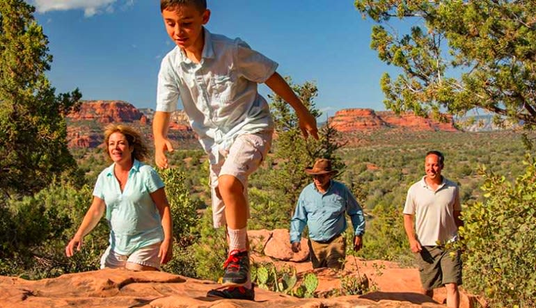Jeep Tour Sedona, Diamondback Gulch Tour Family