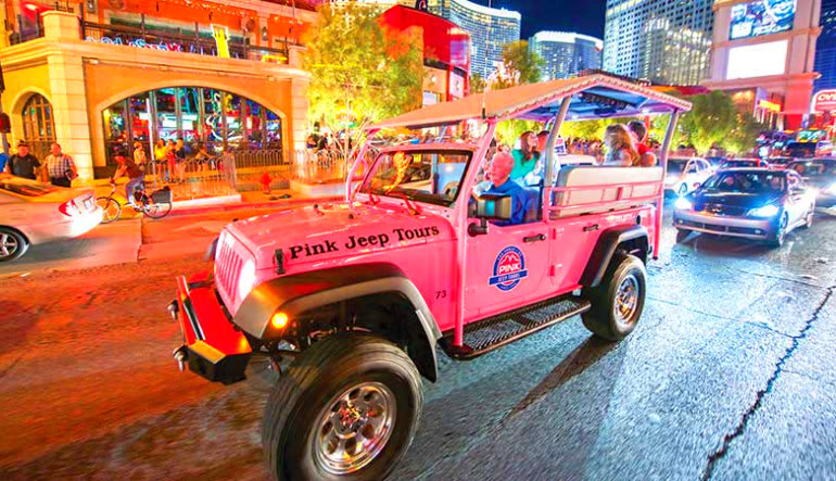 Helicopter and Jeep Tour Las Vegas - 4 Hour Night Tour (Includes Hotel Shuttle)
