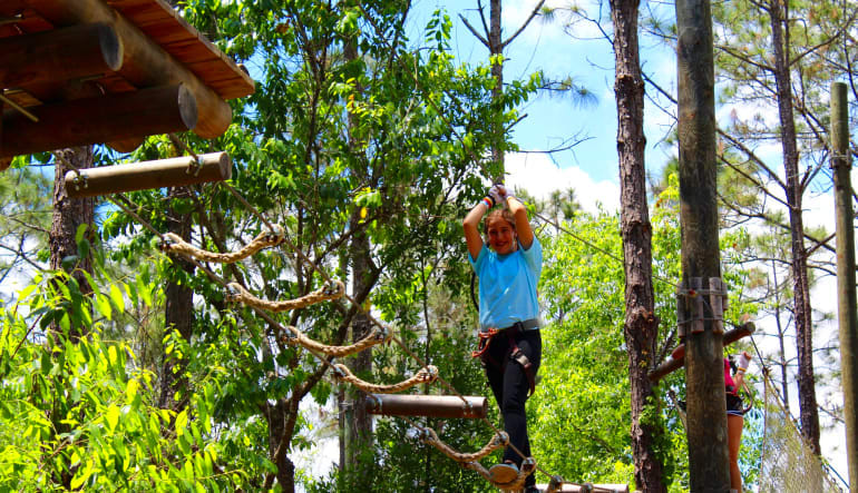 Tree Trek Adventure, Orlando Girl