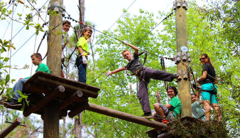 Tree Trek Adventure, Orlando Children