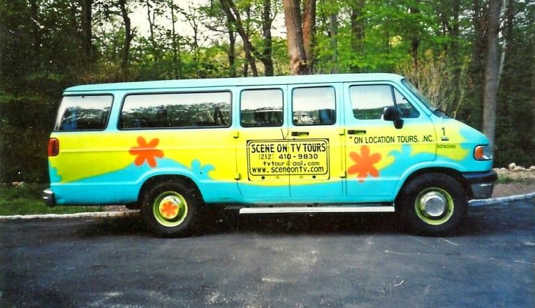 New York City TV & Movie Site Bus Tour Scooby