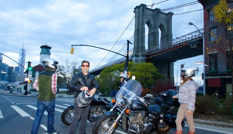 Motorcycle Tour New York City, Bridge and Tunnel  Ready To Rumble