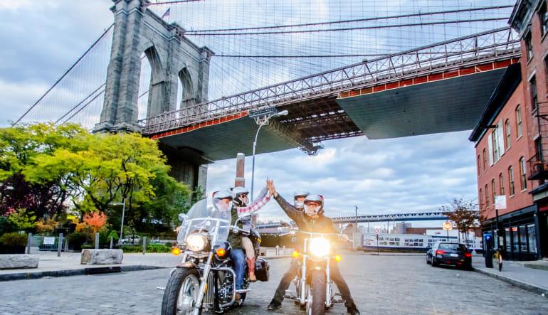 Motorcycle Tour New York City, Downtown Bridge