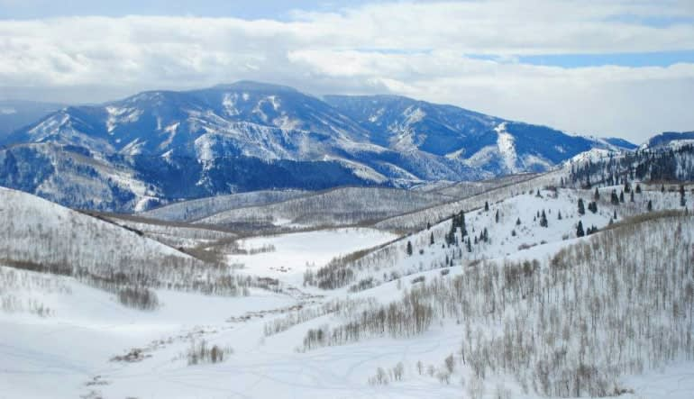 Snowmobile Tour for 2 on Private Trails Mountains