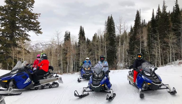 Snowmobile Tour for 2 on Private Trails