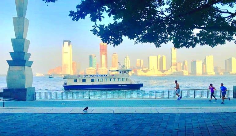New York City Running Tour, Hudson River